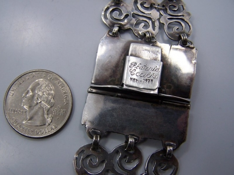 Plateria Cecilia Vintage Mexican Silver Necklace