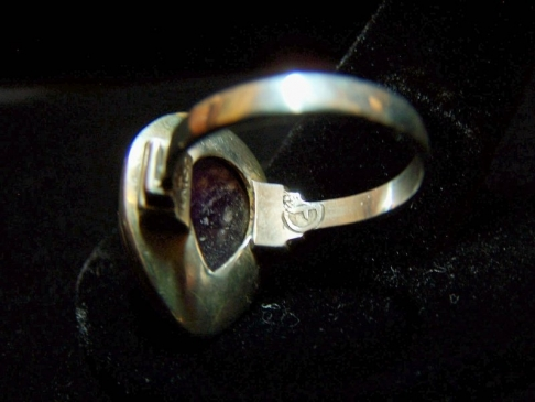 Fred Davis Ring And Earrings Vintage Mexican Silver Set