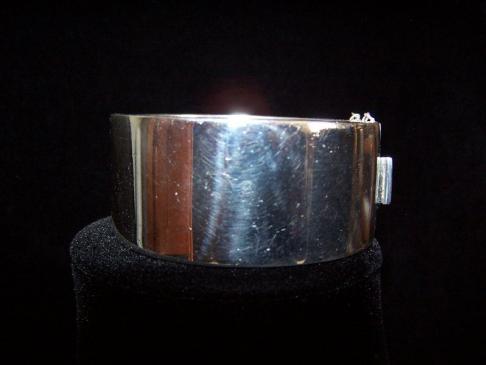 Carmen Beckmann Vintage Mexican Silver Bracelet