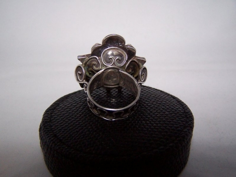 Matl Matilde Poulat Vintage Mexican Silver Ring