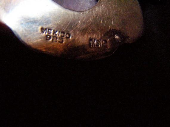 Matl Salas Mexican Silver Necklace