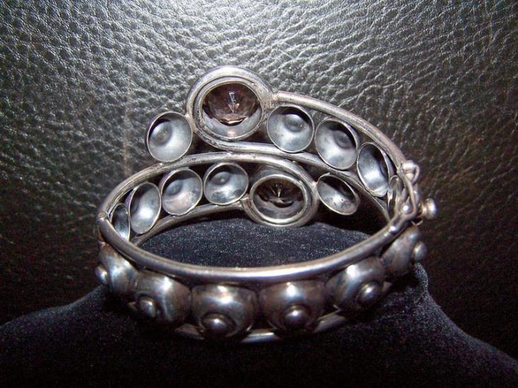 Vintage Los Ballesteros Mexican Silver Bracelet