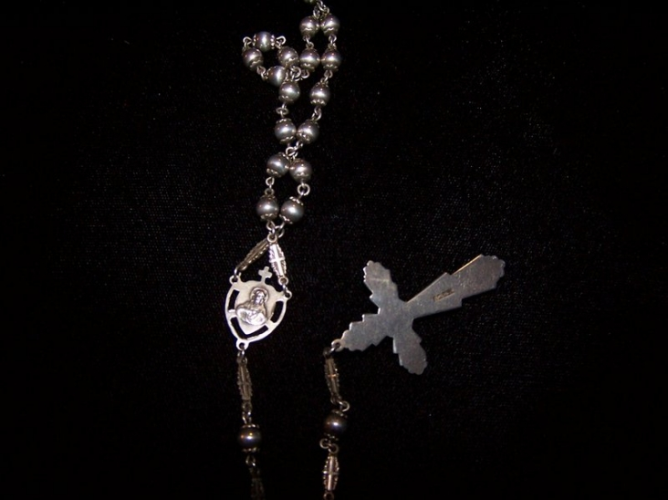 The Best Vintage Sterling Rosary