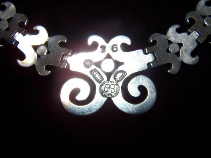 Los Ballesteros Eagle 42 Vintage Mexican Necklace
