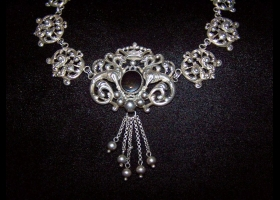 Vintage William Spratling Mexican Silver Necklace